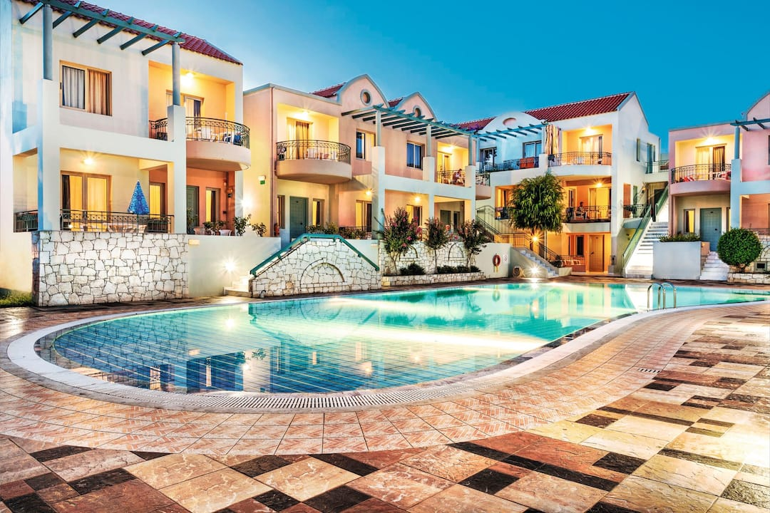 Holiday to Lotus Hotel in KATO DARATSO (GREECE) for 4 nights (SC) departing from birmingham on 17 May