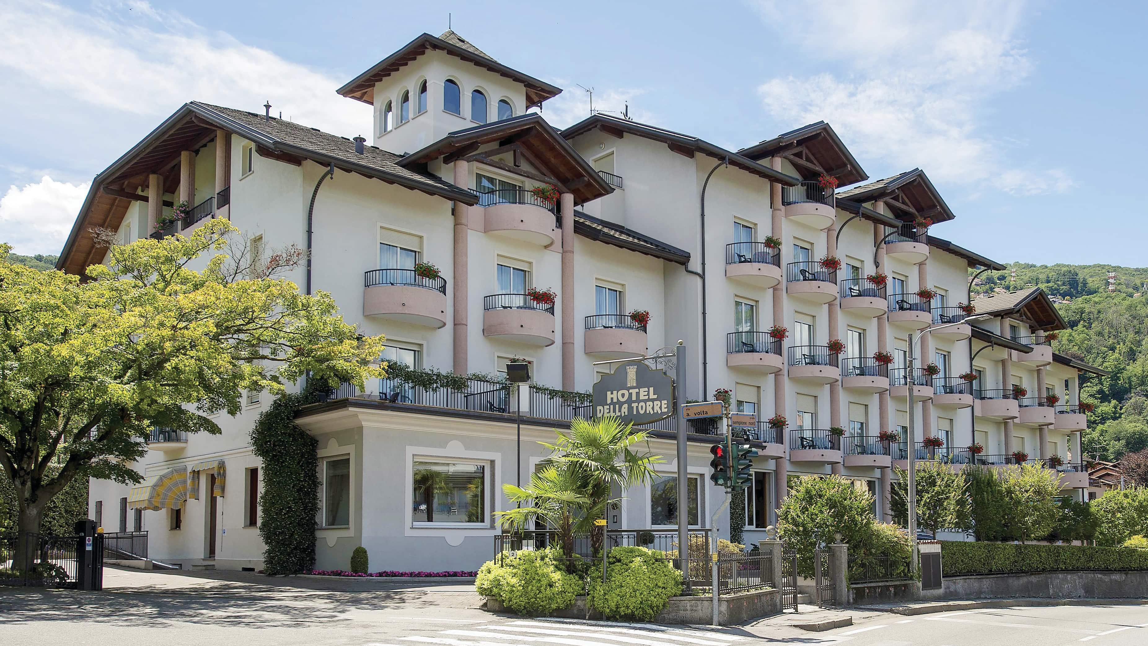 Exterior of the Hotel Della Torre