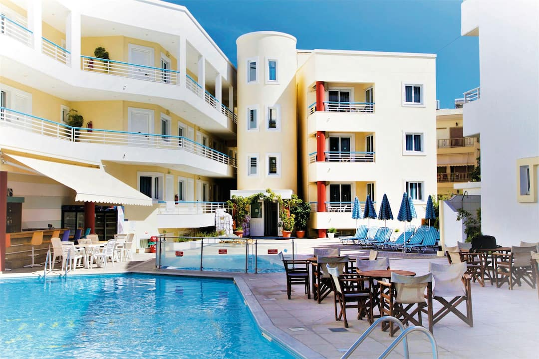 Holiday to Anastasia Hotel & Apartments in KOS TOWN (GREECE) for 3 nights (SC) departing from manchester on 03 Jun