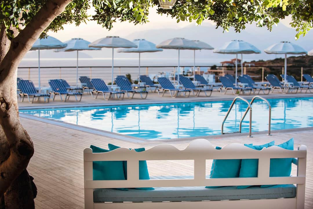 Holiday to Elounda Ilion Hotel & Bungalows in ELOUNDA (GREECE) for 3 nights (BB) departing from gatwick on 03 Oct