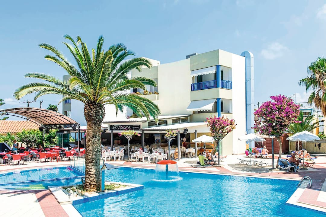 Holiday to Ibiscos in RETHYMNON (GREECE) for 5 nights (SC) departing from manchester on 07 May