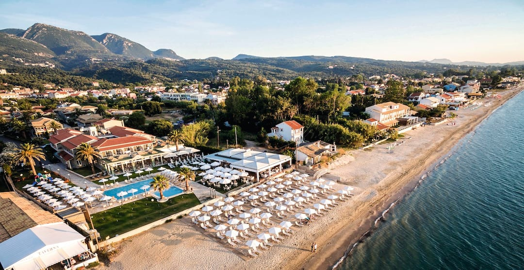 Holiday to Acharavi Beach in ACHARAVI (GREECE) for 4 nights (HB) departing from birmingham on 04 May