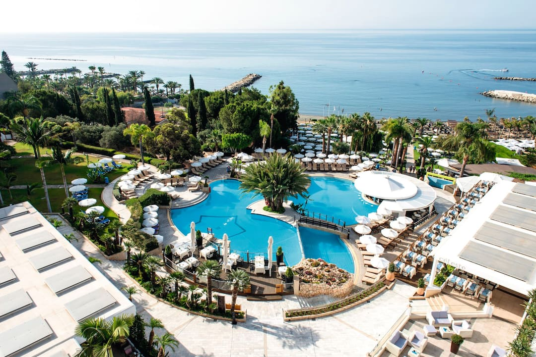 Holiday to Mediterranean Beach Hotel in LIMASSOL (CYPRUS) for 3 nights (BB) departing from gatwick on 13 Jan