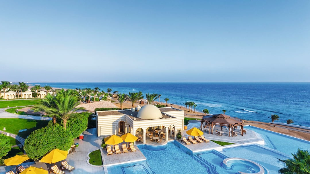 Holiday to The Oberoi Sahl Hasheesh in SAHL HASHEESH (EGYPT) for 4 nights (BB) departing from birmingham on 29 Apr