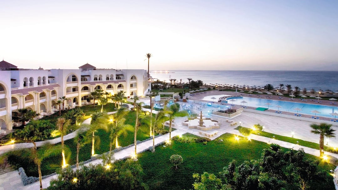Holiday to Old Palace Resort Sahl Hasheesh in SAHL HASHEESH (EGYPT) for 3 nights (AI) departing from birmingham on 10 Jan