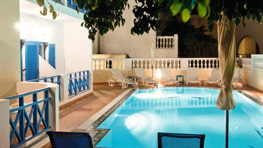 Holiday to Karidis Hotel in KAMARI (GREECE) for 7 nights (BB) departing from bristol on 14 May