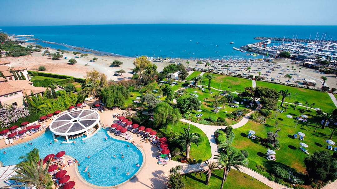 Holiday to St Raphael Resort in LIMASSOL (CYPRUS) for 5 nights (BB) departing from birmingham on 02 Oct