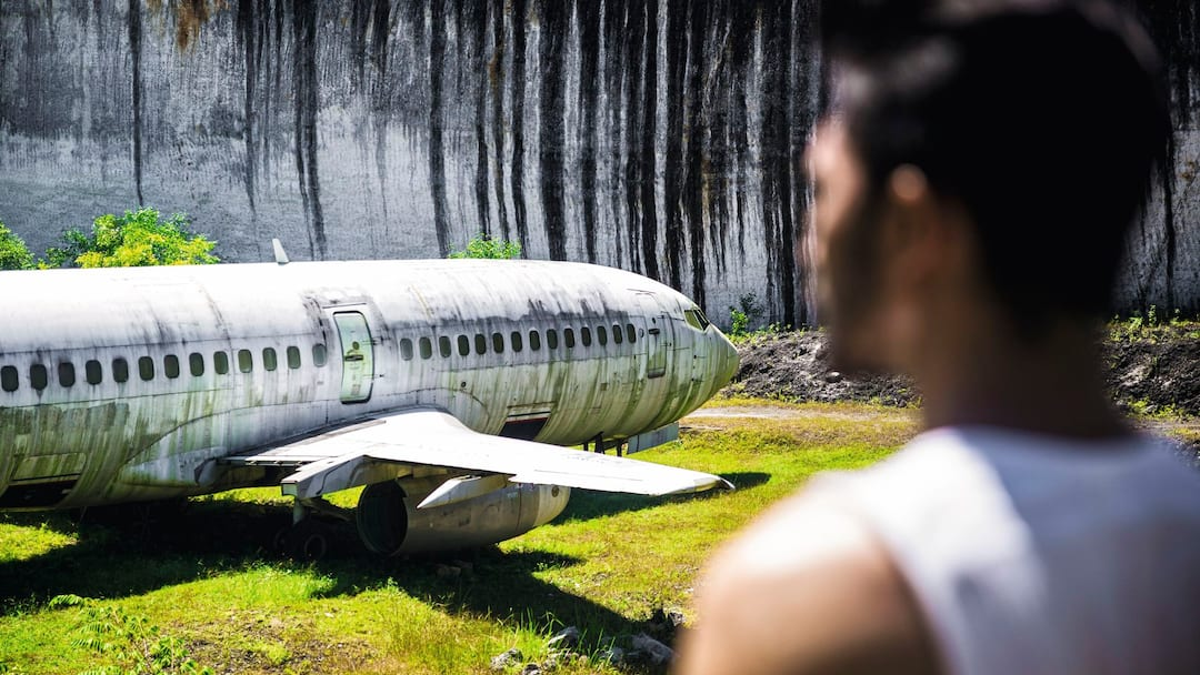 Abandoned air plane
