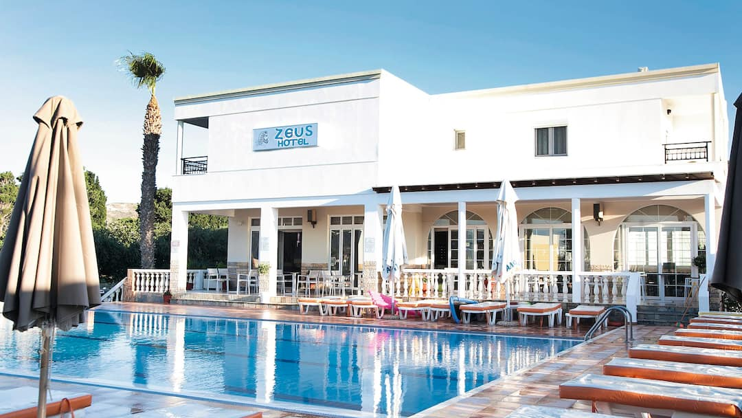 Holiday to Zeus Hotel in KEFALOS (GREECE) for 3 nights (BB) departing from gatwick on 06 Jun
