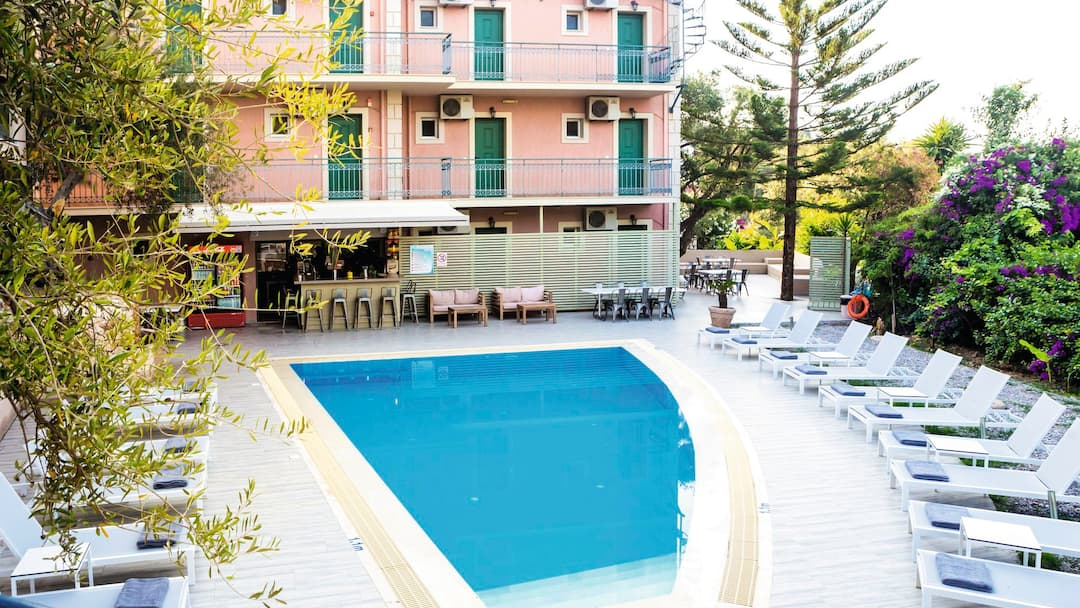 Holiday to Ardavani Hotel in LOURDAS (GREECE) for 7 nights (BB) departing from bournemouth on 05 May