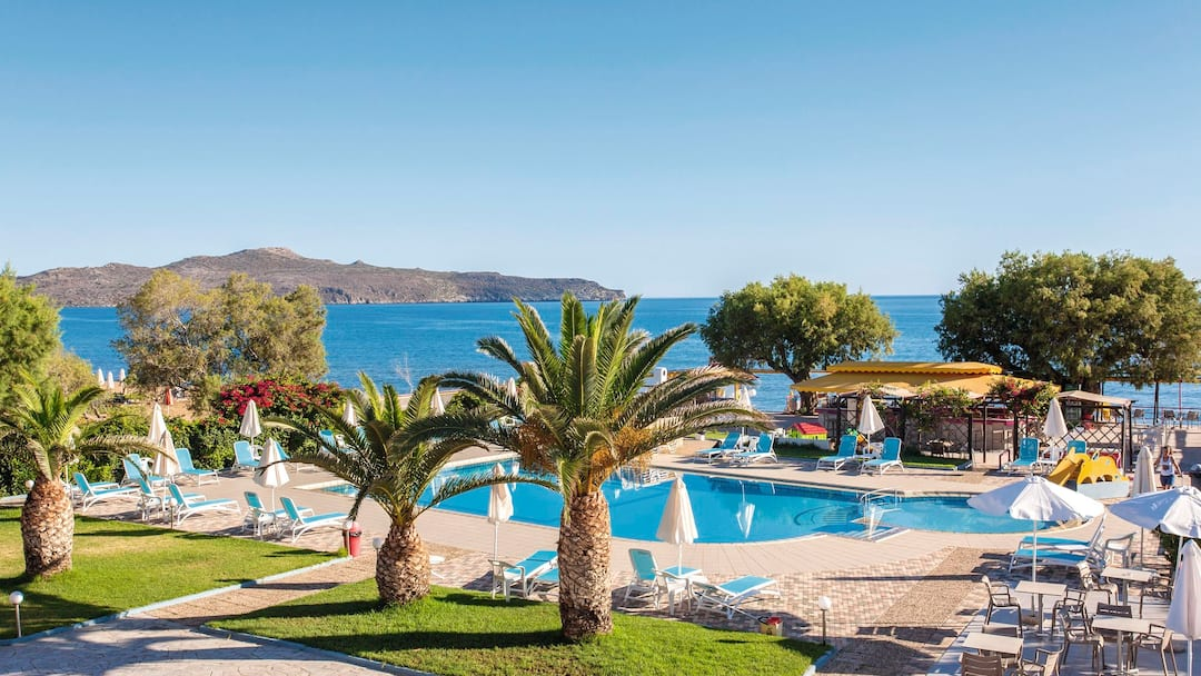 Holiday to Sea Side Apartments in STALOS (GREECE) for 3 nights (BB) departing from birmingham on 12 May