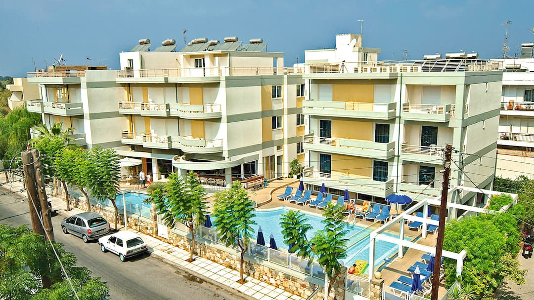 Holiday to Angela Apartments in KOS TOWN (GREECE) for 3 nights (SC) departing from manchester on 03 Jun