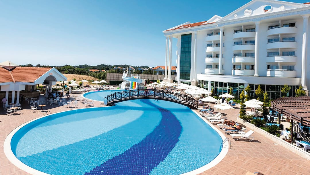 Holiday to Roma Beach Resort & Spa in SIDE (TURKEY) for 3 nights (AI) departing from gatwick on 25 Jun
