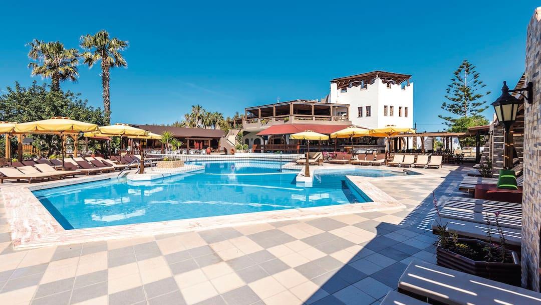 Holiday to Gaia Garden Hotel in LAMBI (GREECE) for 3 nights (AI) departing from gatwick on 06 Jun