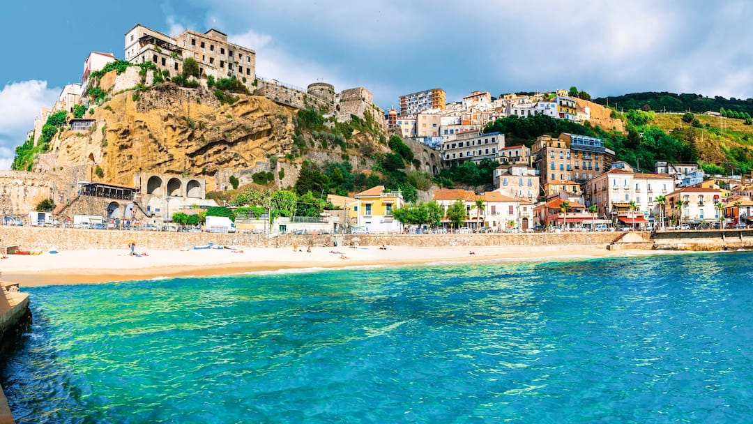 Pizzo beach in Calabria