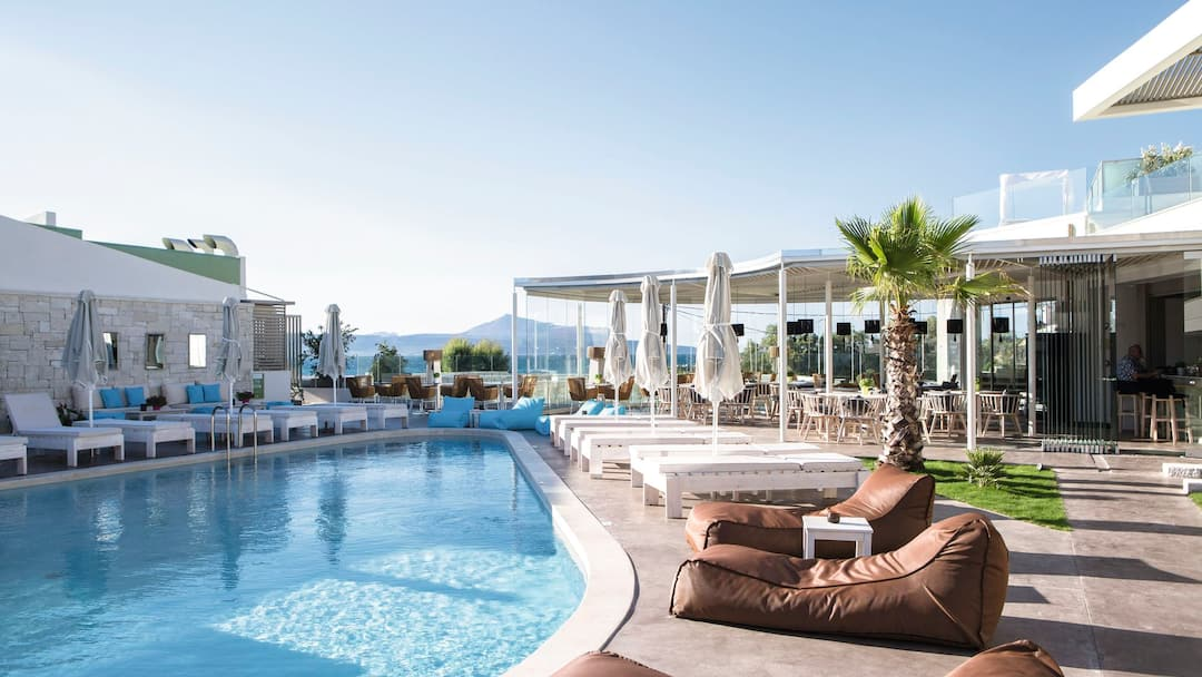 Holiday to Aloe Boutique & Suites in ALMYRIDA (GREECE) for 3 nights (BB) departing from birmingham on 05 May