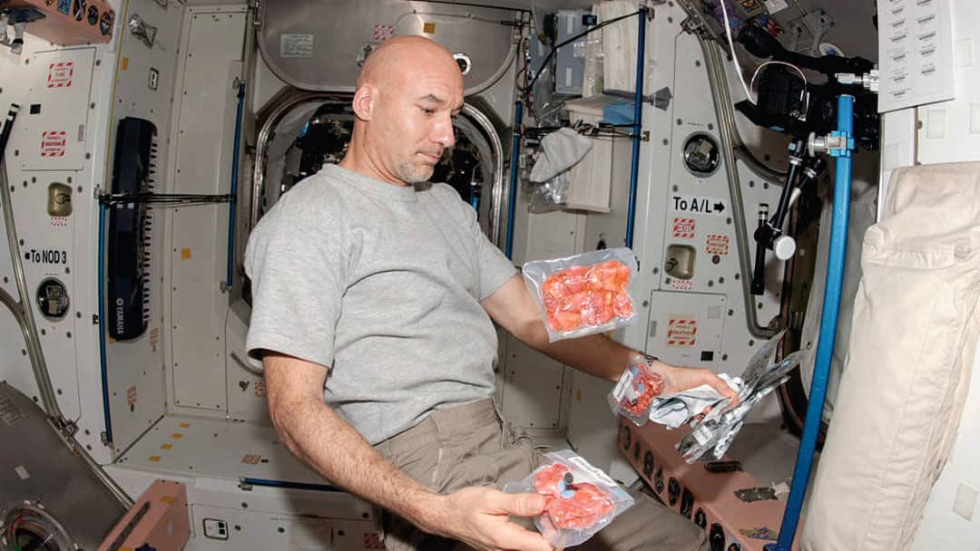 what do astronauts eat up in space - photo #37