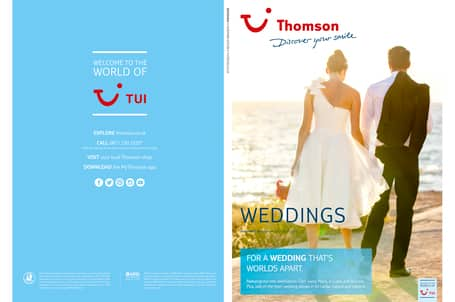 Weddings Brochure | Thomson