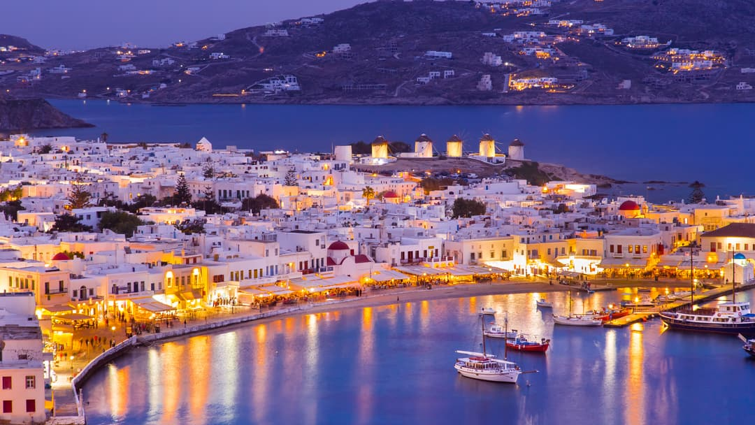 how to get from mykonos to croatia
