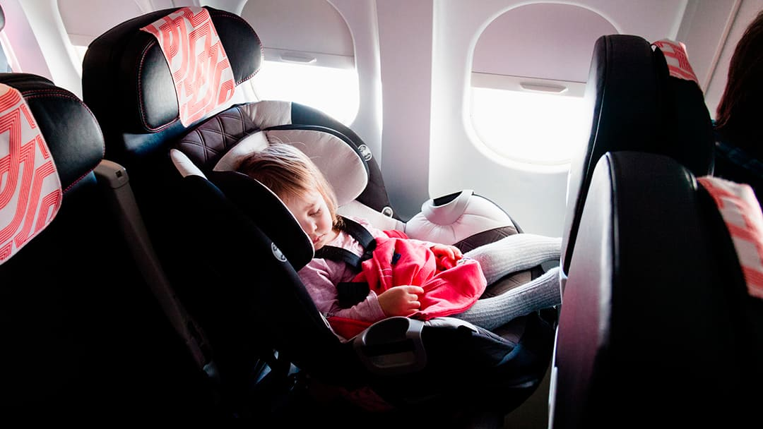 how to make flying with a baby easy