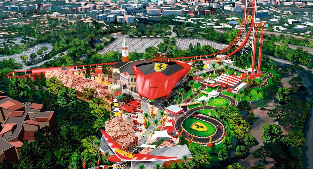 Ferrari Land Portaventura S New Fast Paced Friend