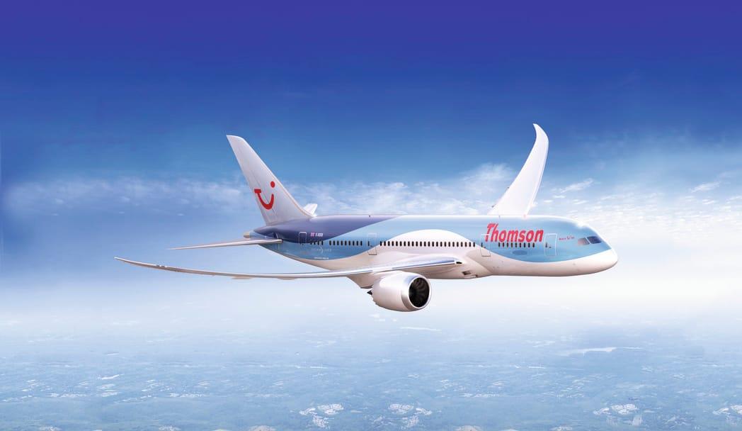 787 Dreamliner Thomson Now Tui